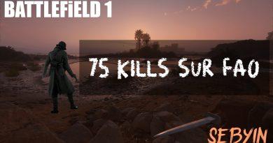 75 kills BF1 FAO
