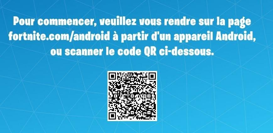 Installer Fortnite sur Android - Sebyin